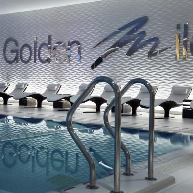 "Фитнес клуб ""Golden Mile Fitness&SPA"", г. Москва, Хилков переулок"