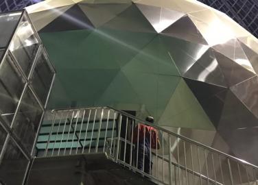 """5D кинотеатр """"Космическая сфера"""", павильон Космос, м. ВДНХ"""