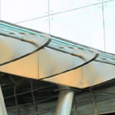 Козырьки из стекла и нержавеющей стали